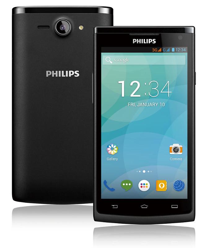 """Philips S388 - smartphone z 4,5"""" ekranem i 4-rdzeniowym procesorem"""