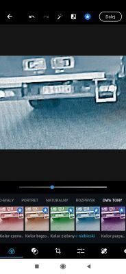 Nieczytelna tablica rejestracyjna sprawcy; porysował auto i uciekł.