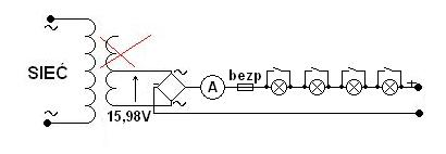 Prostownik do ładowania akumulatorów z 24V na 12V