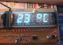 Zegar na lampach VFD