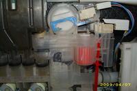 Zmywarka Bosch SRS45T52EU przelewa wodę przez hydrostat.