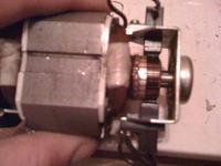 podkaszarka elektryczna- silnik