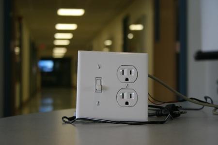 Licznik energii z prezentacją danych na PC