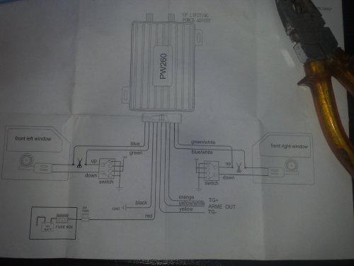 Seat Cordoba - Montaż Uniwersalnego modułu domykania szyb