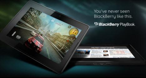 Filmik z BlackBerry PlayBook pokazuje obsługę Flasha i HTML5