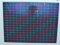 Monitor Samsung SyncMaster 900nf - zbieżność kolorów