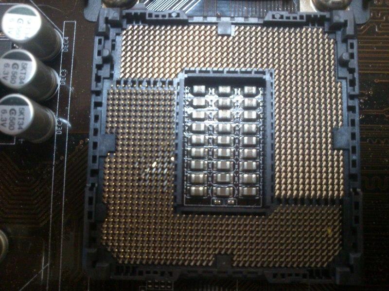 Gigabyte H81M-HD3 - Uszkodzony socket 1150