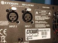 Crown XLS202 Uszkodzony jeden kanał. Brak schematu.