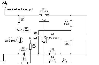 �adowarka li-ion do wkr�tarki na lm317 zbyt ma�y pr�d.