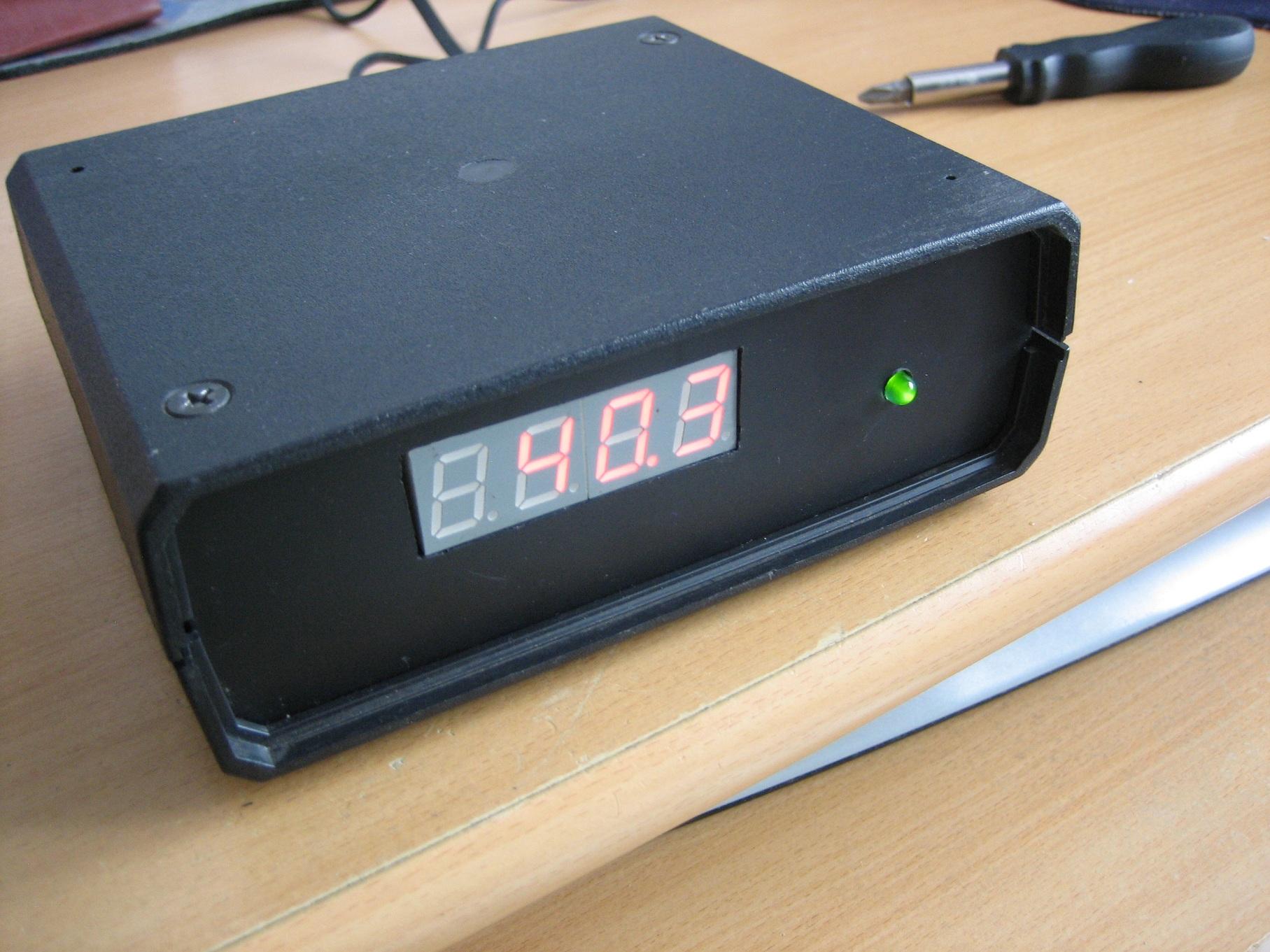 Najprostszy sterownik[termostat] pompki CO z termometrem