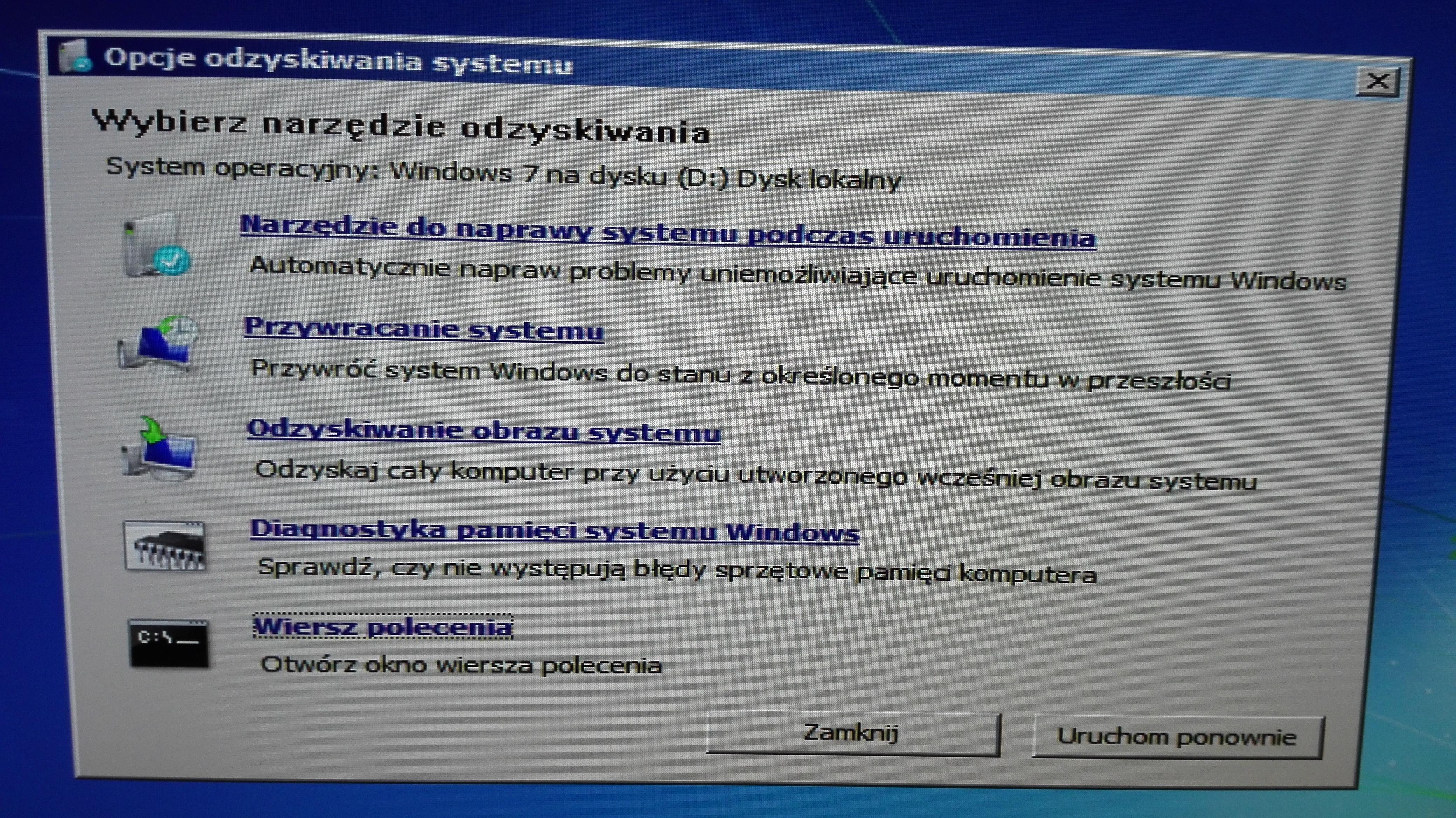 Windows 7 64bit Czarny Ekran Czarny Ekran Po Włączeniu
