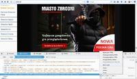 Firefox - Niechciany pasek boczny (baner)