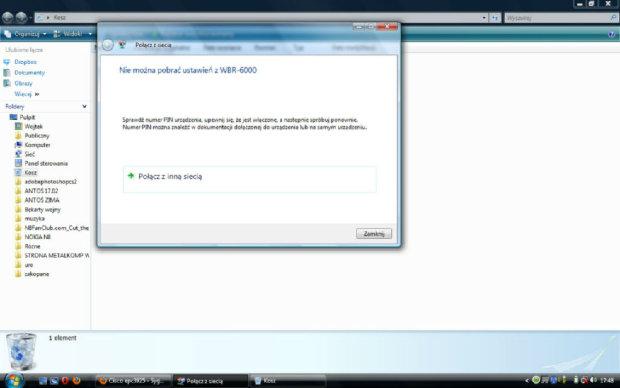 Cisco epc3925 - Sygna� wifi na laptopie i telefonie