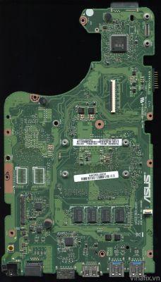Asus R566L - Uszkodzona płyta główna