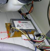 Siemens WM23000 - wywaliło bezpiecznik i nie wiruje - co się spaliło