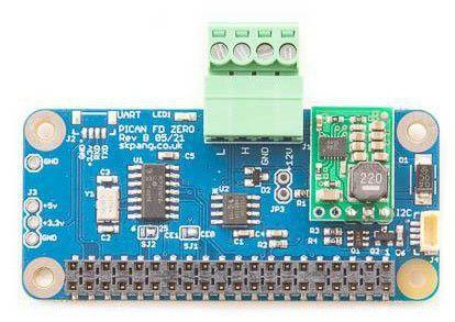 Płytka z CAN FD do Raspberry Pi Zero i Pico