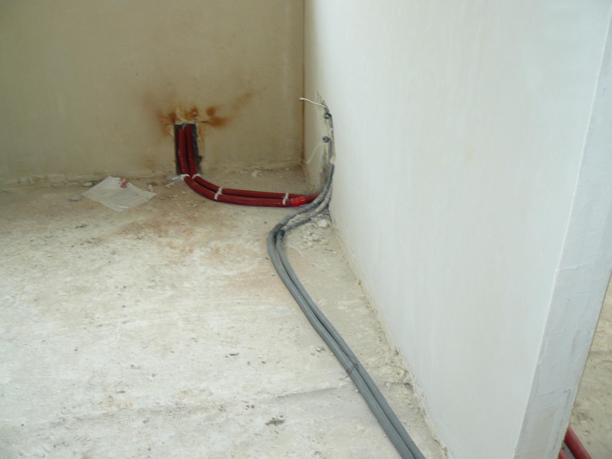 Instalacja elektryczna w pod�odze
