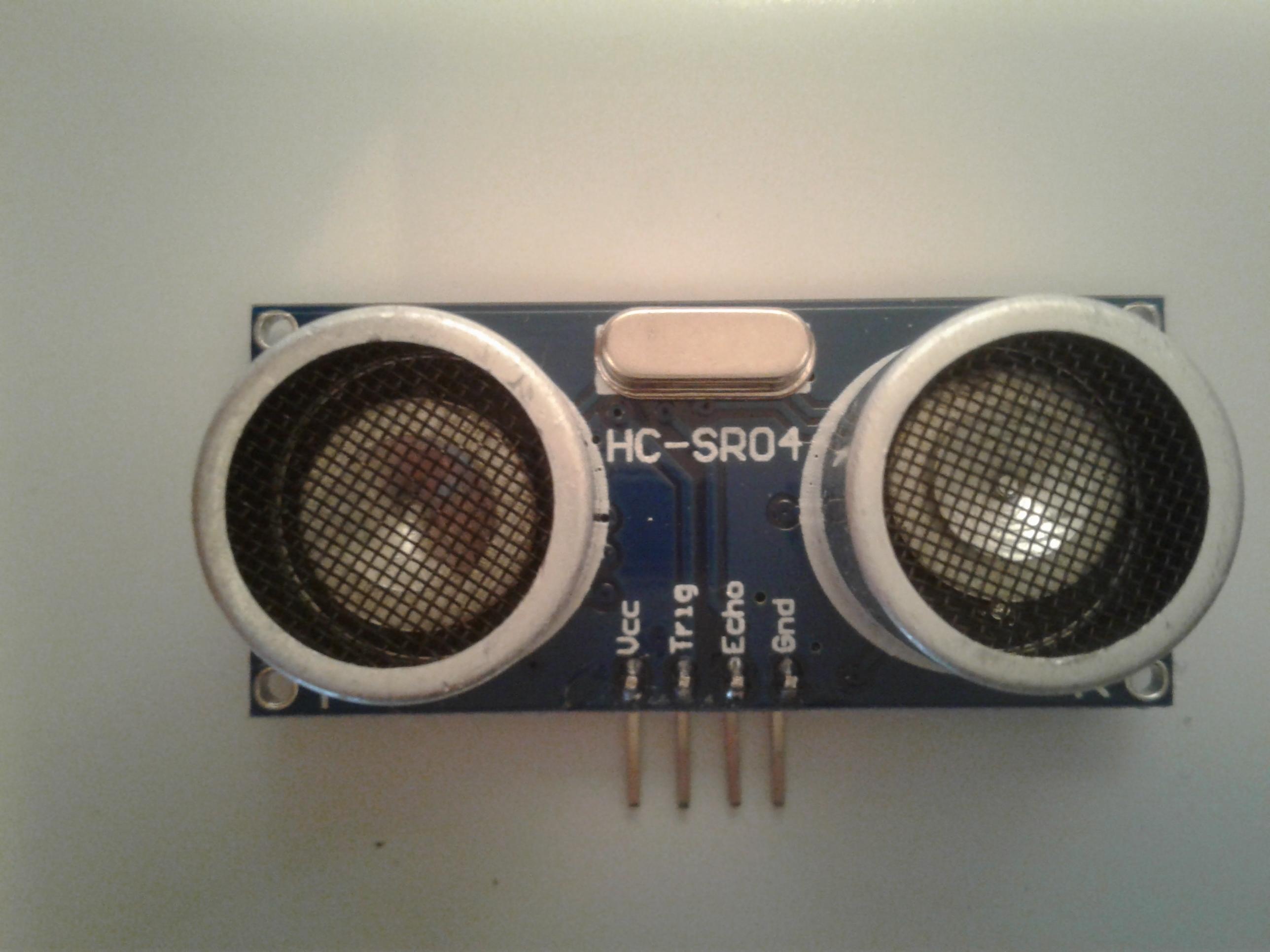 Ultraschall Entfernungsmesser Hc Sr04 : Ultraschallfühler hc sr beschreibung und bewertung