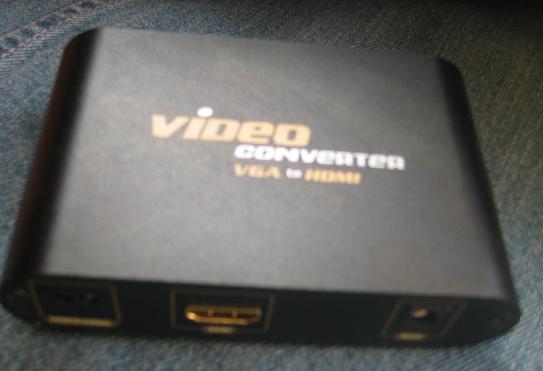 [Sprzedam] Konwerter z VGA+Audio do HDMI Unitek Y6210