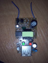 Lampka Led z �adowarki do MP4