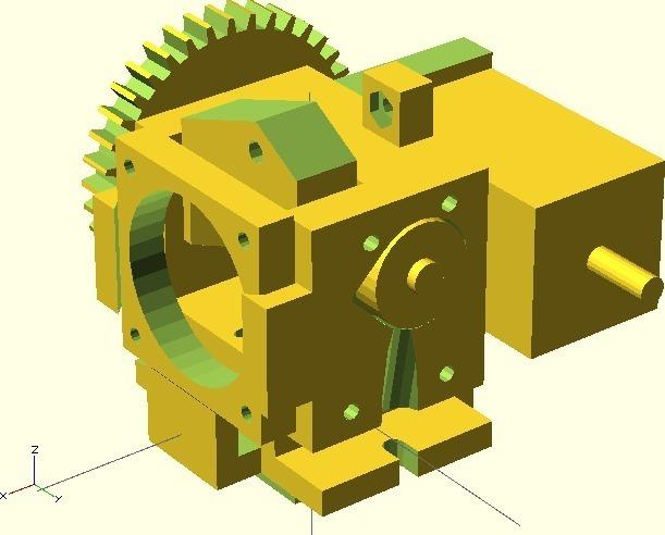 DIY RepRap Universal mini extruder