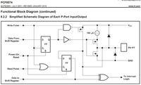 PCF8574 - Czy układ ten posiada wewnętrzne rezystory PULLDOWN , PULLUP