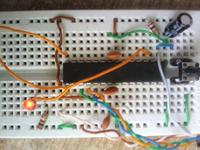 Atmega - dziwne mruganie diody.