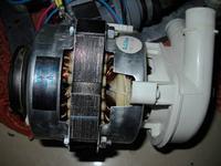 Zmywarka Ardo LS 9325 B - uszkodzony silnik pompy ?