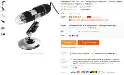 Przenośny mikroskop 50-500X 2MP USB - Made in China - Test / Recenzja / Opinia.