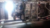 Zabezpieczenie prądowe szafy serwerowej.