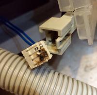 Bosch SMV59T10EU/43 - nie pobiera wody, symbol kranika