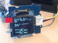 Monitor jakości powietrza w pokoju