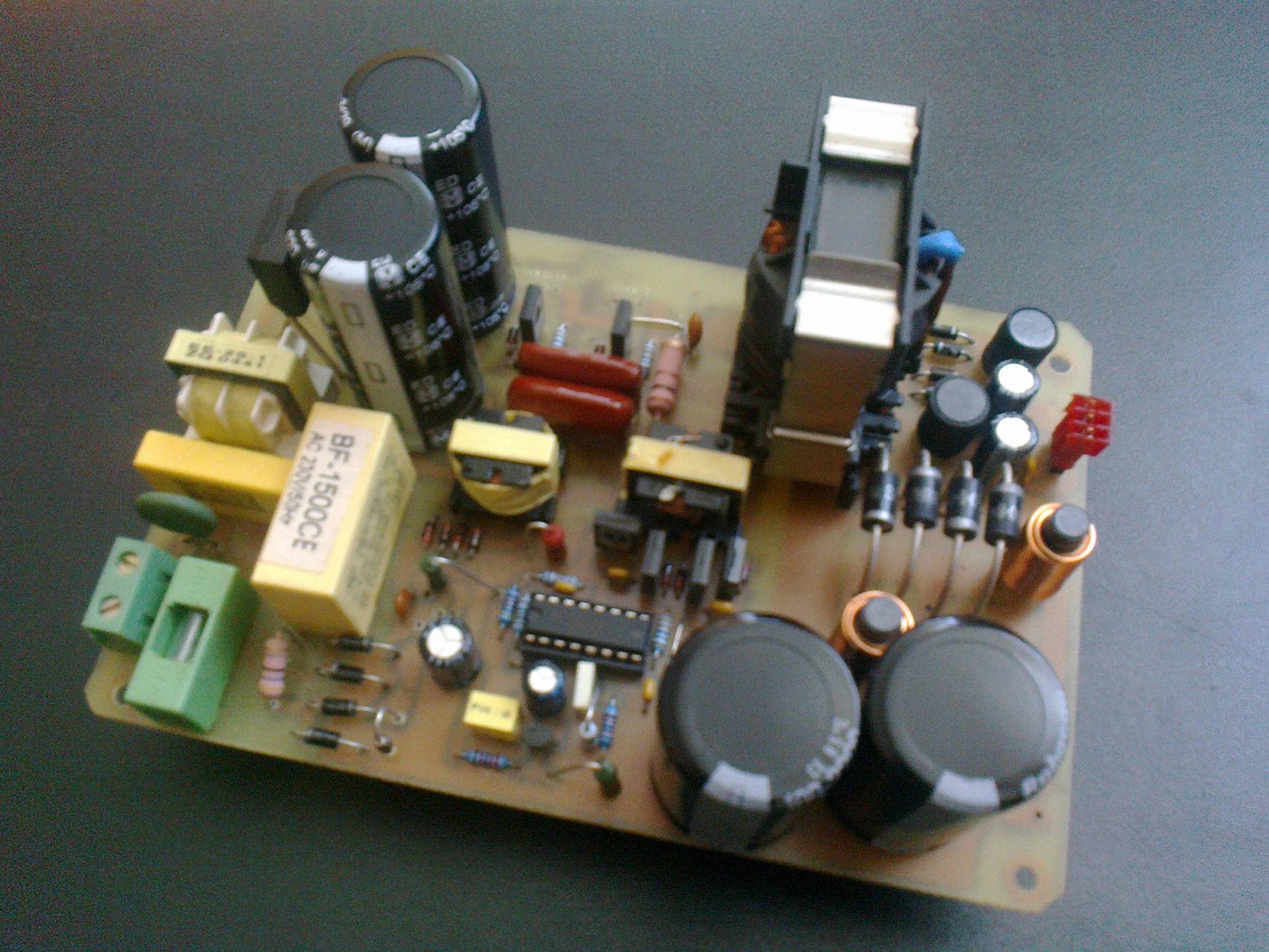 Zasilacz impulsowy do zastosowa� audio 250W - projekt