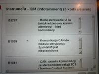 Mercedes A klase w 168 1.6 cdi skrzynia 722.7 świeci BAS/ESP