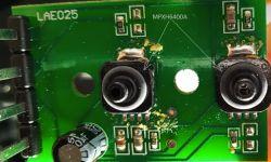 Wnętrze MAP-sensora instalacji LPG