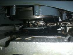 Graphite 89G940 - łańcuch raz napięty, raz luźny