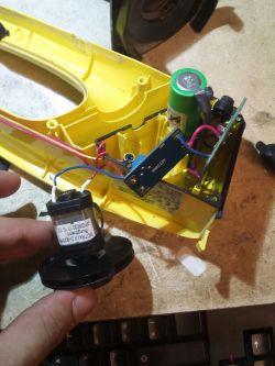 Myjka do okien Karcher WV 50 - Spalony silniczek