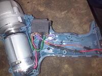 Klucz udarowy Erbauer - Uszkodzony włącznik