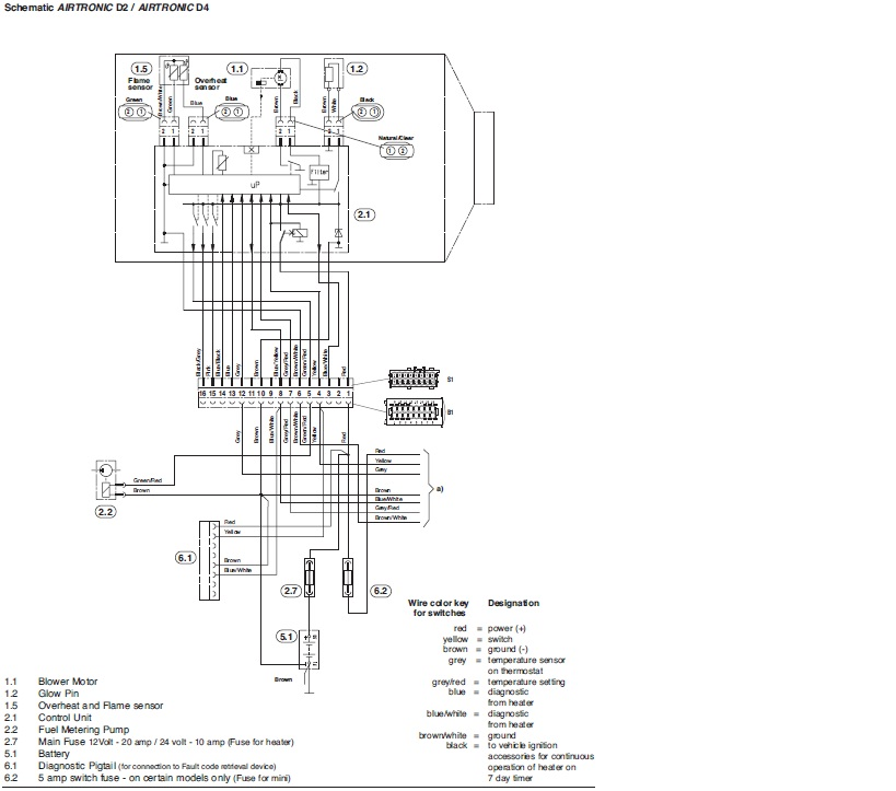 airtronic d2 wiring diagram  airtronic  get free image