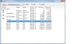Dysk SSD 256GB pokazuje 1023mb
