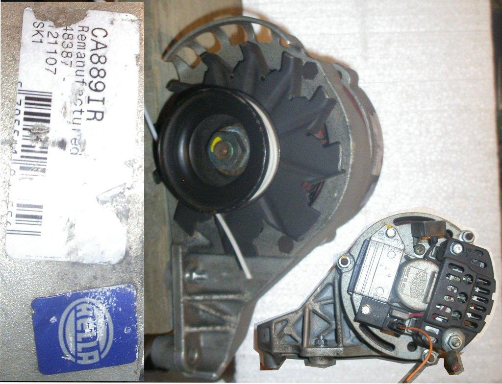 Alternator Magneti Marelli (Italy) HELLA CA889IR