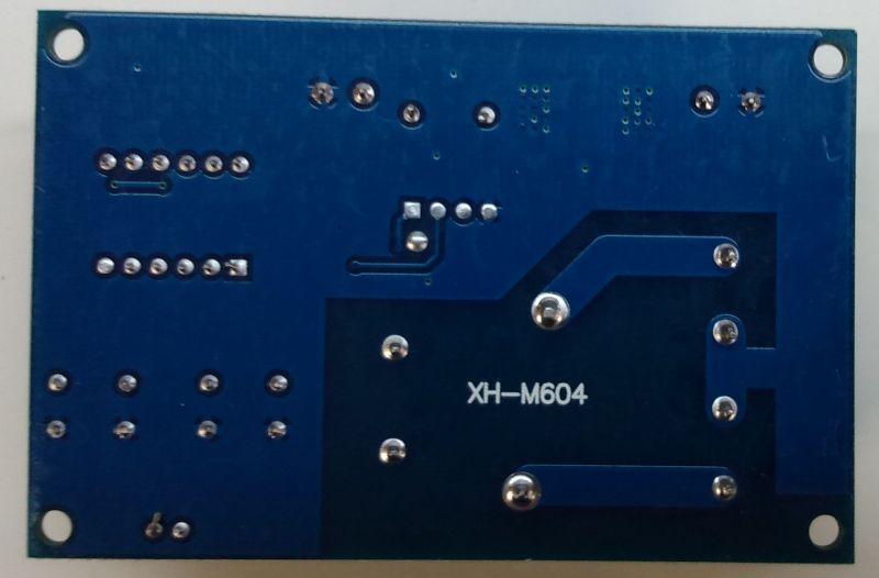 Moduł sterowania ładowarką 6-60V XH-M604