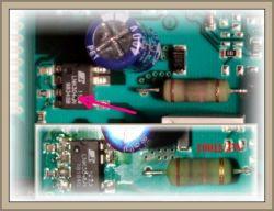 Siemens SE24N861EU/36 - zmywarka nie włącza się, spalony opornik?