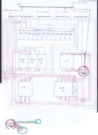Wymiana instalacji - Gniazdo jednofazowe na różnicówce trzyfazowej