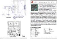 Panel(e) do sterowania wentylatorami PC i mierzenia temperatur