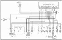 Electrolux EDW503 - podłączenie modułu sterującego