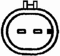 Fiat Punto 2 czujnik  - polo�enia wa�u numer 55187380 pomiar rezystancji