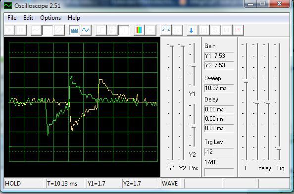 Mikser modelarski - Pomiar 6 sygna��w pwm. BasComAVR