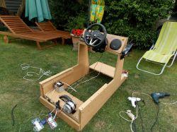 Zbudowałem domowy symulator rajdowy (z napędem)