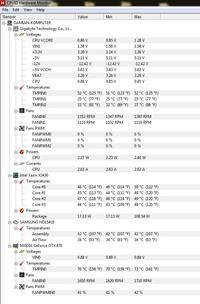 Niepokoj�ca Temperatura komputera
